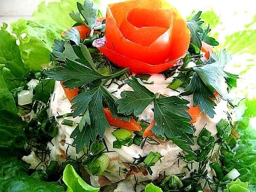 торт овощной книга из серии Вкусные хлопоты-блюда из картофеля(мне ее подарили на нашей московской...