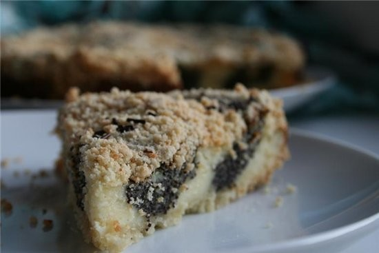 пирог маковое колечко рецепт из ж-ла «Приятного аппетита» На 12 порций Для теста- посыпки: 100 г сл... - 2