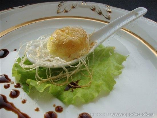 4/50 рецептов из яиц Запеченое яйцо на рисовой лапше по-японски рисовая лапша яйцо сливочное масло...