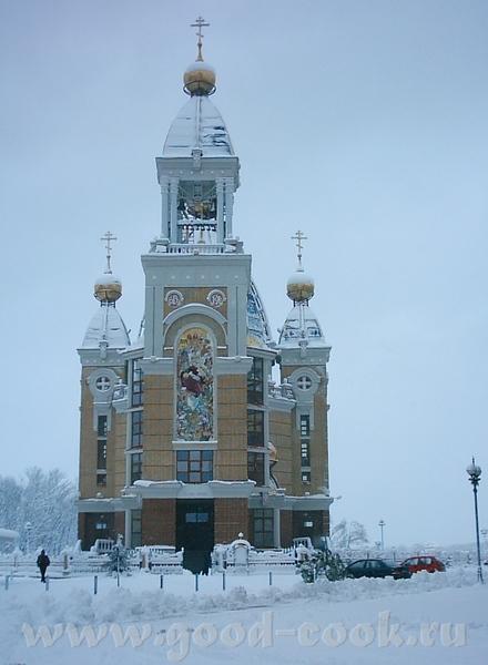 А это вид на заснеженный город Киев - 3