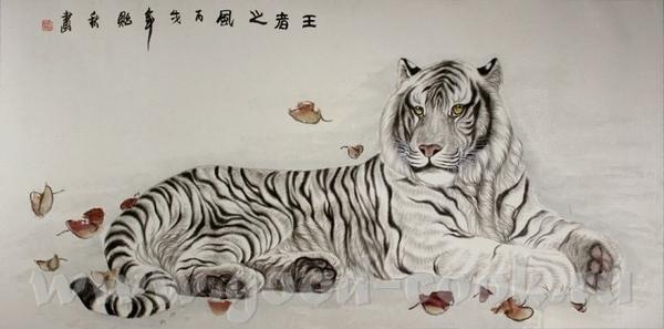 Белый тигр =========== ============================================= Acrylic ========= - 4