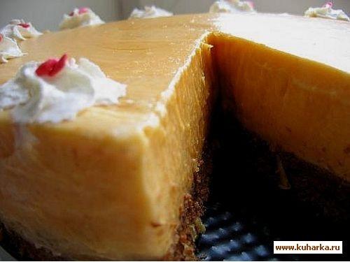 тыквенный торт оригинальный рецепт,а свои комментарии ниже для теста 150гр муки,100 гр сливочного м... - 2