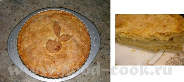 Яблочный пирог как раз только вчера испекла, муж оценил по достоинству, сказал оочень вкусно 340 г...