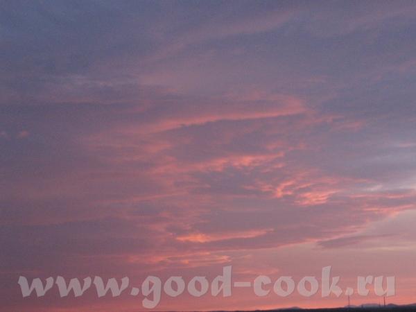 КАК КРАСИВО вот наш закат на озере небо - 2