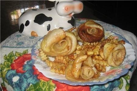 А это картофельные розы, очень эффектный и вкусный гарнир - 2