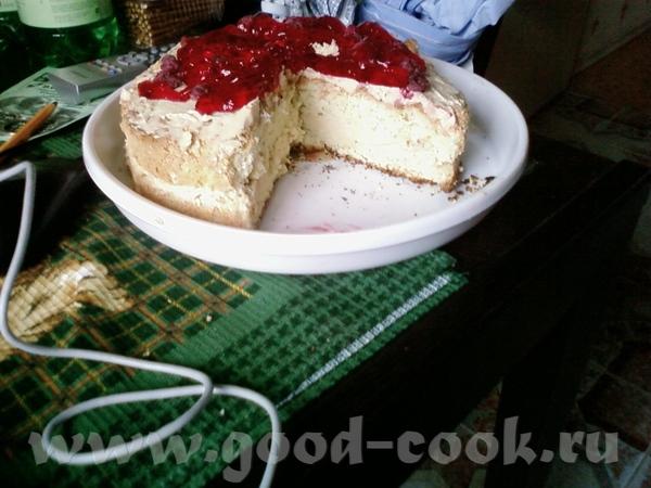 Вот на полдник принесла Вам тортик ТОРТ БИСКВИТНЫЙ С МАСЛЯНЫМ КРЕМОМ РЕЦЕПТ 5 яиц 200 гр сах - 2