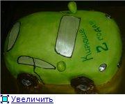торт зеленая машинка торт солнышко с карамельными лучиками торт с юбилеем - 3