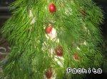 """Поварёнок: Салат оливье """"Елочка"""" с сыром От Скоро Новый год - 8"""