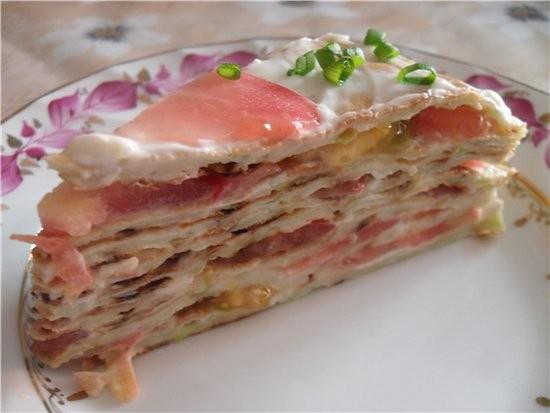 Алена спасибо тебе за твой чудесный Кабачковый торт Нам очень понравился - 2
