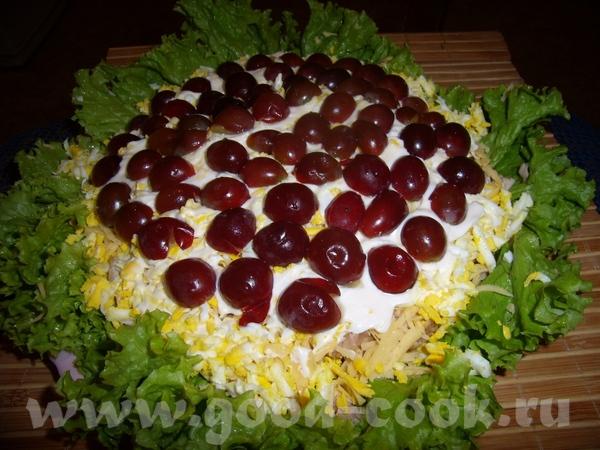 Хочу выложить салатики , которые я делала по уже всем давно известным рецептам - 2