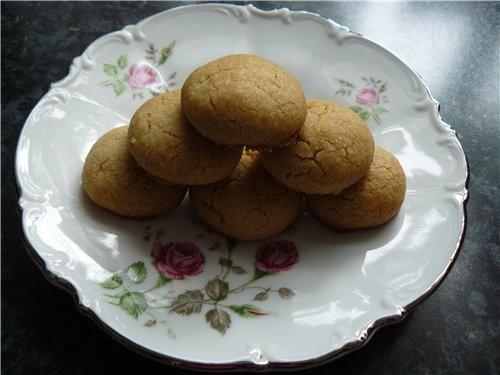 Рассыпчатое, песочное печенье