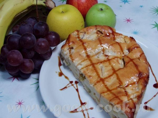 Творожный пирог с яблоками 100 г сл - 3