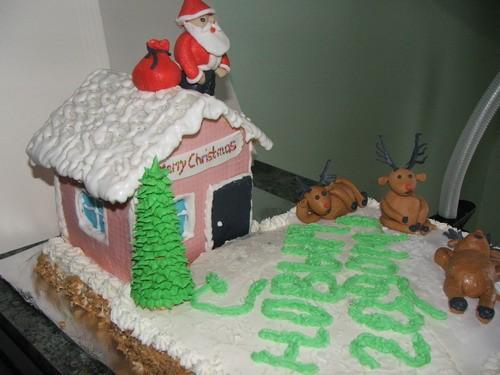 очень очень очень симпатичные и новогодние торты - 3