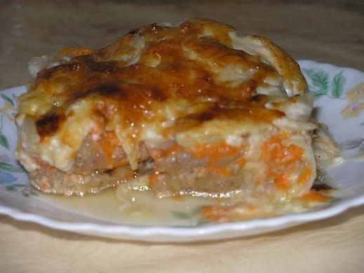 На ужин готовила филе трески под шубой - 2