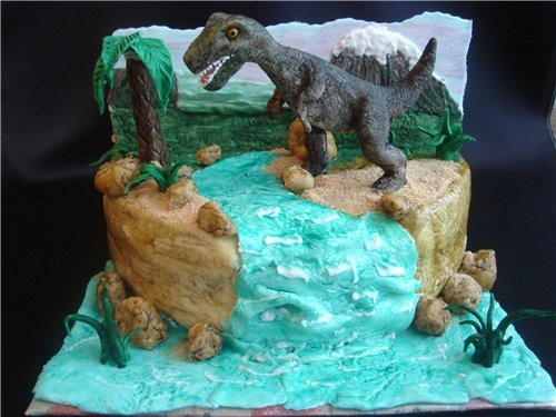 красивые тортики хорошенькая кукла тортик один на двоих - 2