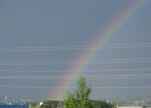 Еще небо в рябчик и закаты радуга - 5