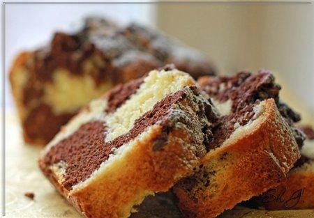 Мраморный кекс от Пьэрра Эрме Очень очень шоколадный, плотный по структуре кекс от знаменитого на в...