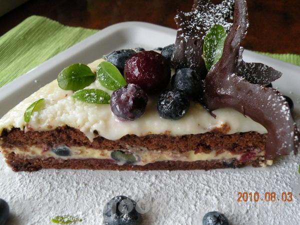 Я хочу предложить такой тортик с голубикой или как у нас называют ,,Ягода американская,, СНЕЖНОЕ СЕ... - 6