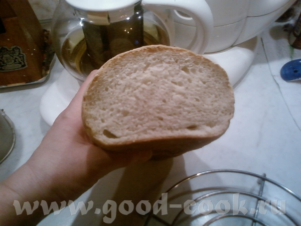 Вот я принесла отчет о выпечке хлеба на камне - 2