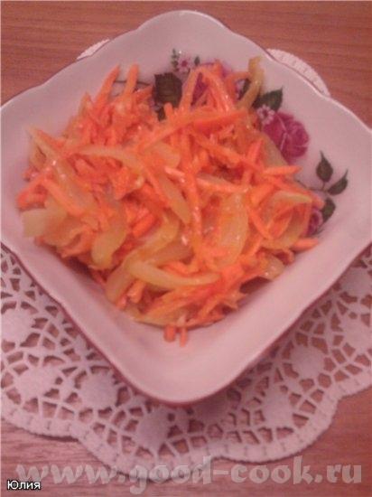 Спасибо Алисочке за Морковь по-корейски И за Курицу фаршированная по-одесски Все оооочень вкусненьк...