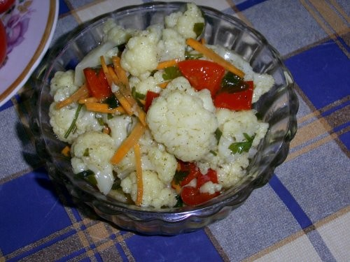 Я цветную капусту готовлю так: Капуста 1-1,5 кг
