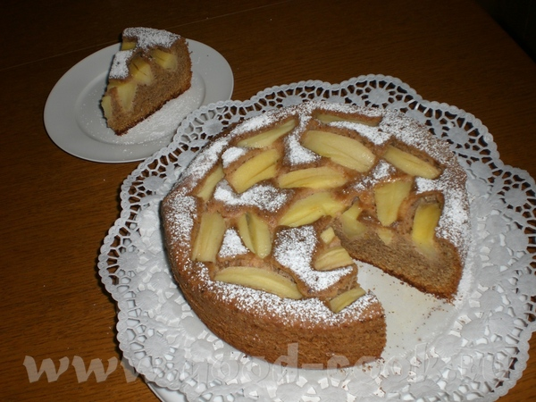 Яблочный пирог «Старый Брюгге» - из немецкого журнала (перевод с немецкого и фото – мои) Масло- 200...