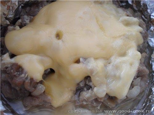 Свинина запеченная с грибами в фольге свинина 300 гр - 3