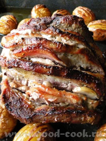 СВИННАЯ ШЕЙКА С КЛЮКВОЙ И ЧЕСНОКОМ Потребуется мясо свин - 4