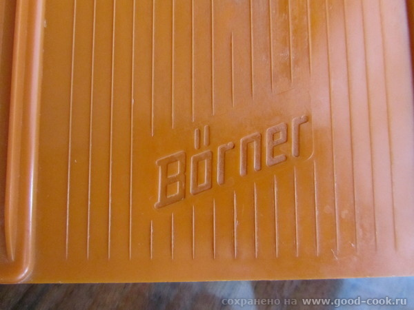 Оль, на Бернере обязательно есть надпись на лезвии ножа и на пластмассе