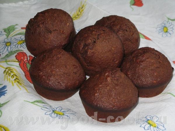 Девочки угощайтесь шоколадными маффинчиками