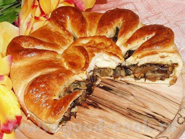 Пирог с баклажанами,грибами и капустой Тарталетки с брокколи и грибами Киш с цветной капустой и каб...