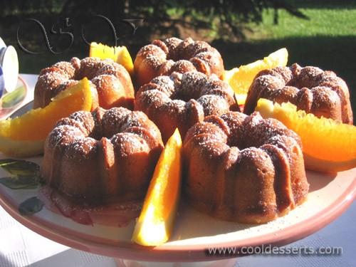 """Апельсиновые кексы"" (Orange Kugelhopf Cakes) Кексы: 175 г сл"