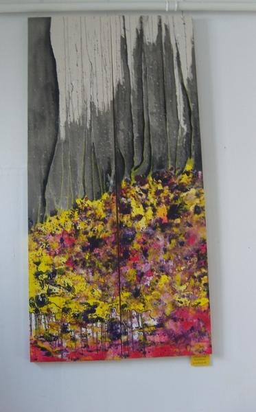 2 мои картины нижние висели рядом с Боб Россовскими - 4