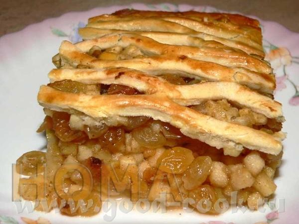 Яблочный пирог 3,5-4 ст