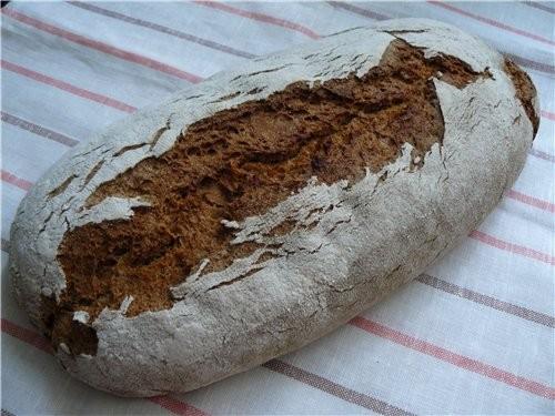 Я всё со своим Ржаным хлебом експериментирую, уже на вид мякиш получше - 2