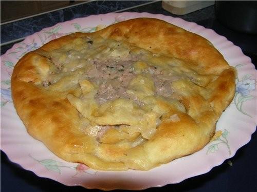 Дальше Лепешка с мясом Креветки жарен