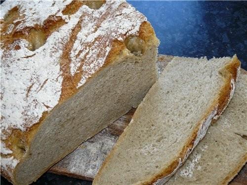 Хлеб пшенично-ржаной с сухой закваской на основе от Марины - fibi Для опары: 100 г ржаной муки 100... - 2