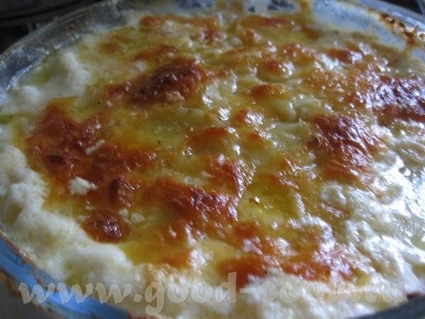 Картофель, запеченный с сыром Ингредиенты (форма диаметром 18 см): ■ 800 г картофеля ■... - 2