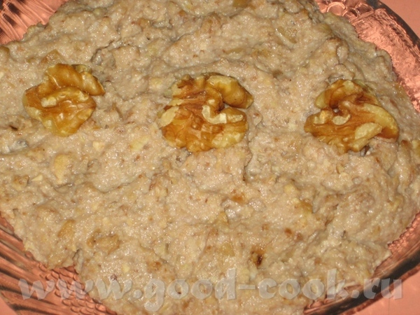 Селедочный паштет с орехами или Форшмак по-новому