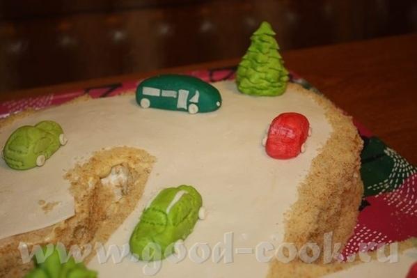 Девочки, вот закончила в ночи торт ребенку на завтрашний праздник - 2