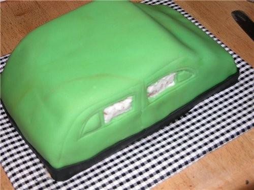ТОРТ-МАШИНА Ето торт на завершение школы (обьединяет в себя всё, что с етим ассоциируется: любовь,... - 7