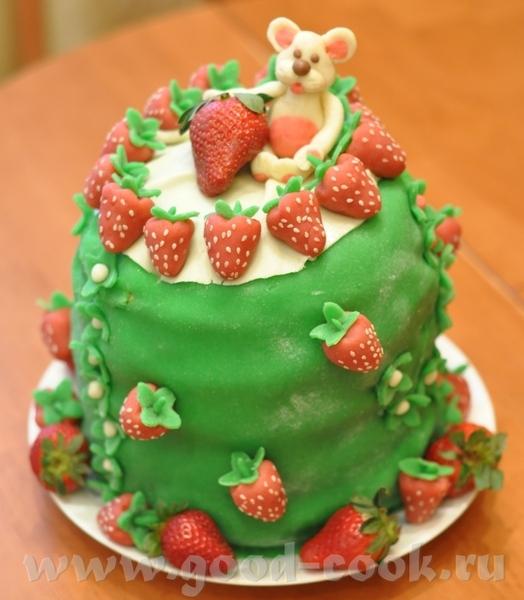 Торт на ДР дочки (9 лет)