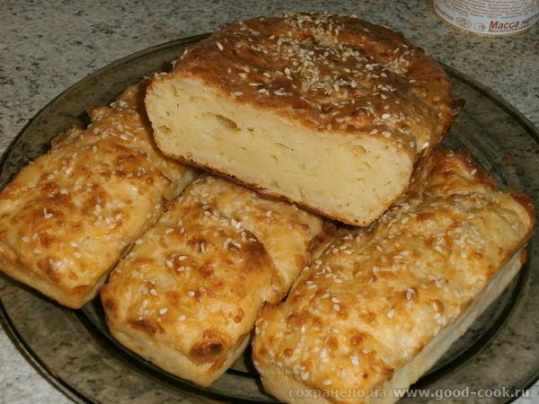Творожно-сырный кекс