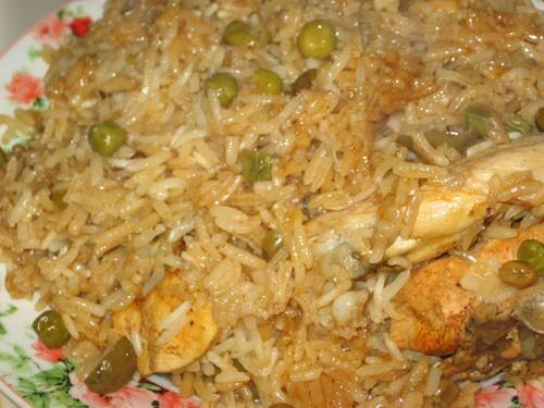 Ароз кон поло - Запеченный рис с курицей по-мексикански