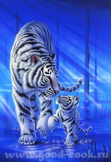 Белый тигр =========== ============================================= Acrylic ========= - 2