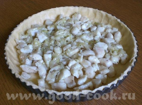 Пирог с рыбной начинкой - 3