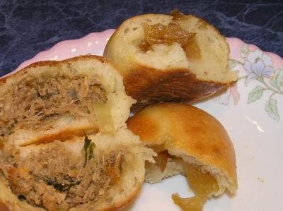 Мчади Пироги с мясом кролика - 3
