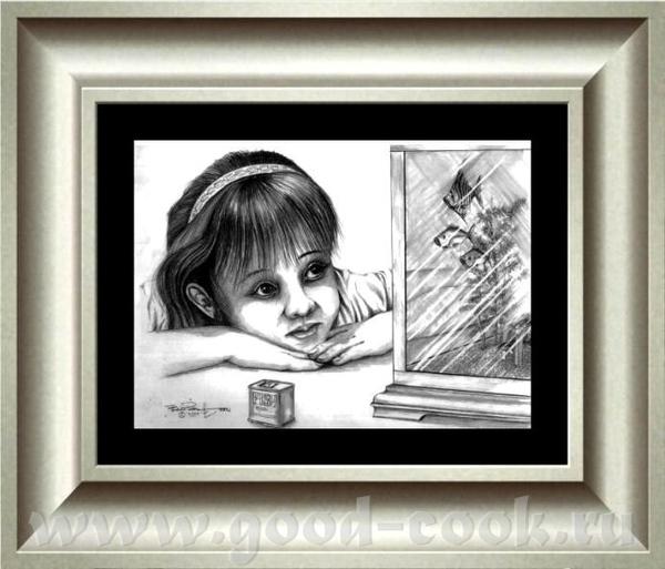 Большая интересная галерия БОБA ПАТТЕРСОНA Pисунки карандаша: - 2