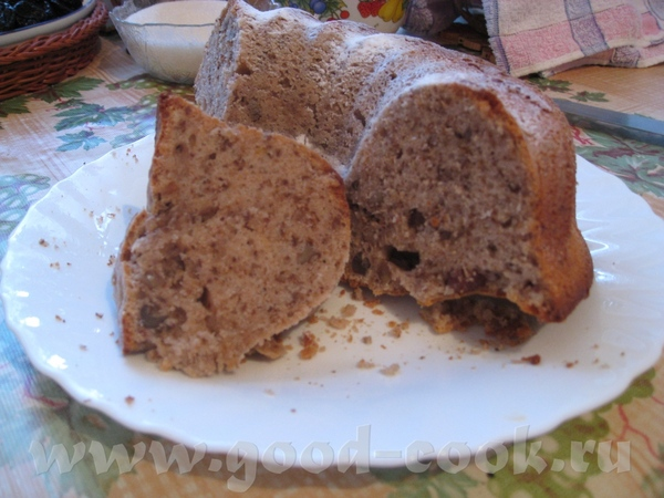 Сливочно-ореховый кекс с халвой Ссылка на первоисточник - 2