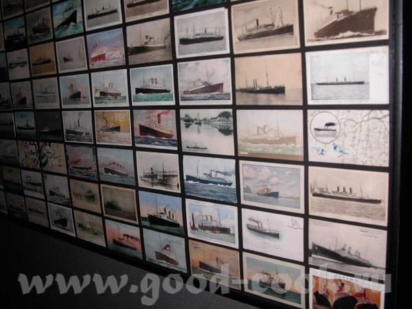 Открытки с изображением пароходов, перевозивших еммигрантов